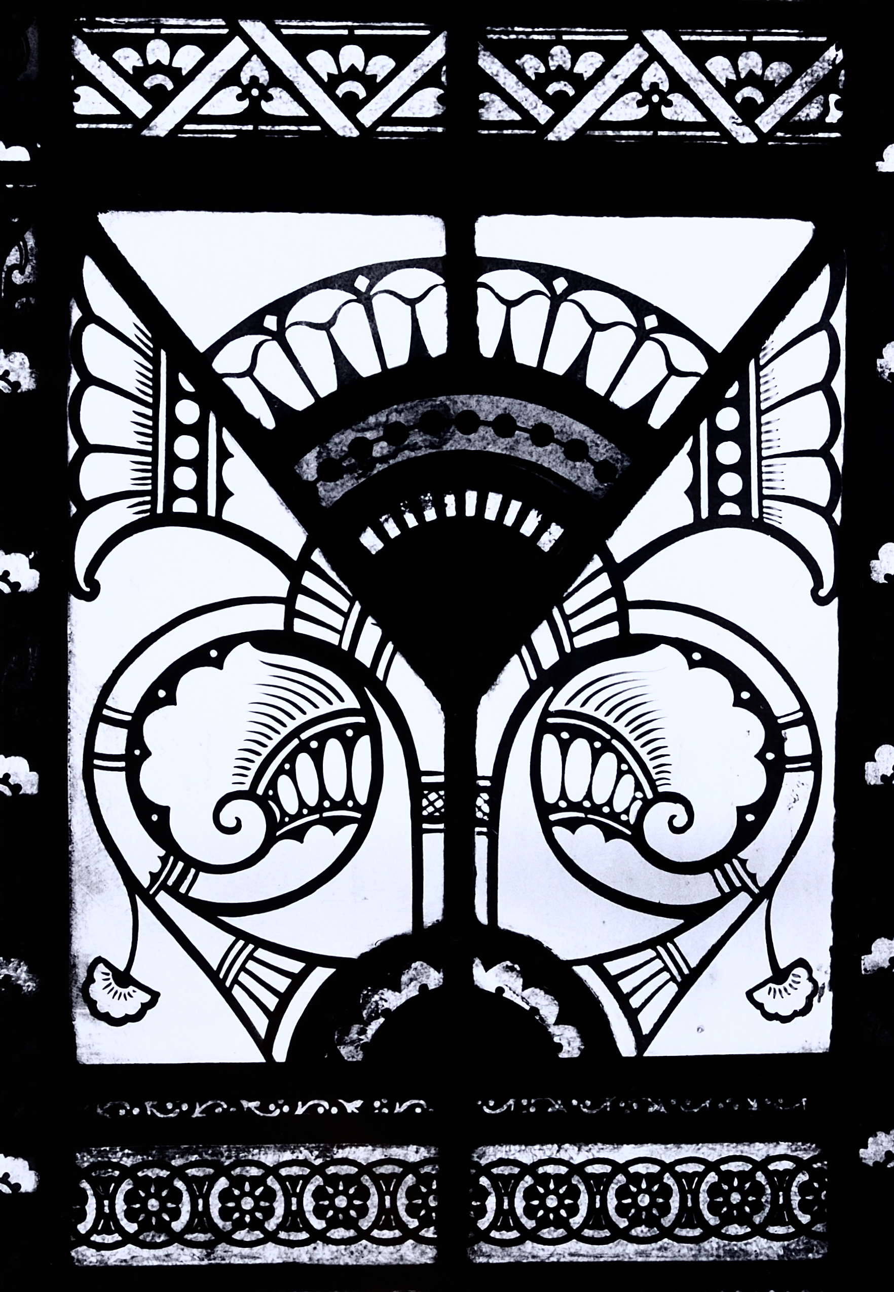 Unidentified American Studio, Possibly Charles Booth, Window Detail, About  1875, First Baptist Church, Poughkeepsie, New York. Photo: John Hupcey