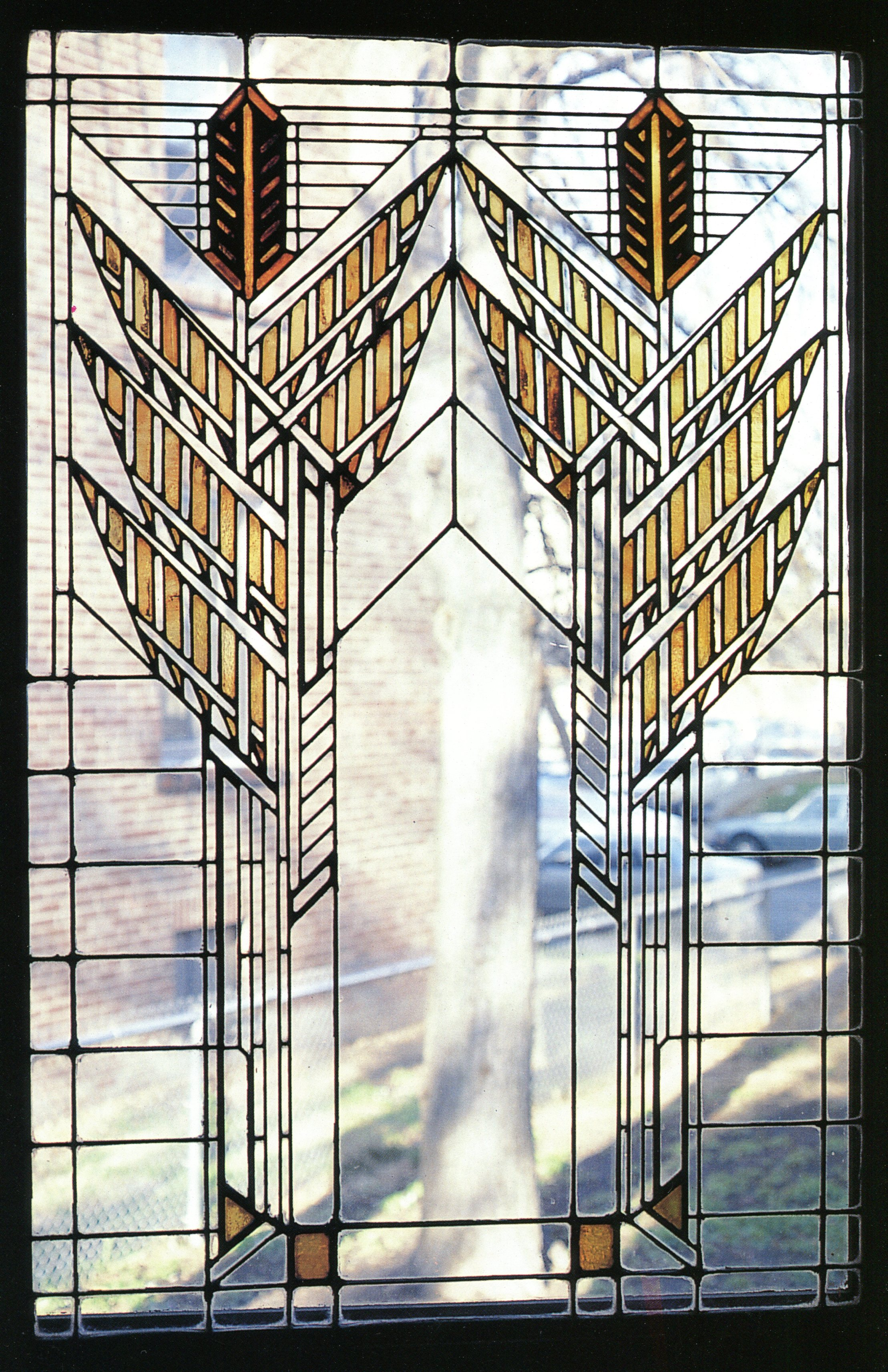 Arts And Crafts Stained Glass Window Patterns