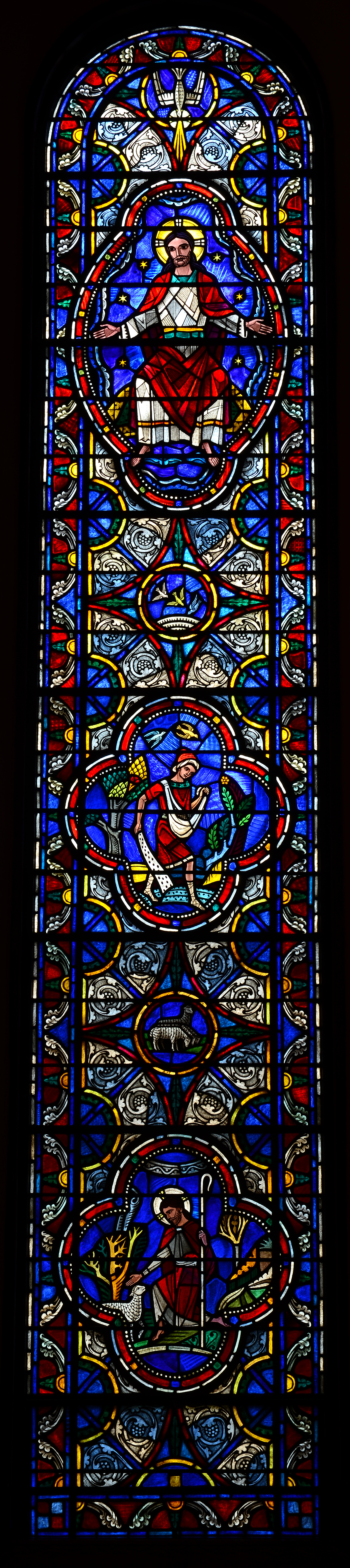 Cram Was One Of The Founding Members Medieval Academy America Given Importance Architects In Selection Stained Glass Studios