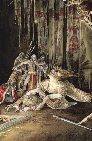 beowulf the concept of an epic hero Free essay: beowulf essay every epic hero possesses certain heroic characteristics the epic poem beowulf describes the most heroic man of the anglo-saxon.