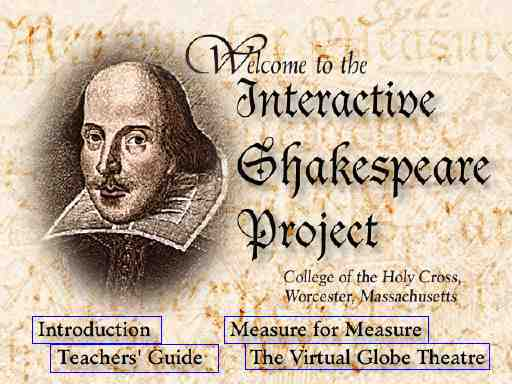Logo for Interactive Shakespeare Project